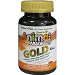 Natures Plus Animal Parade GOLD Barn Multivitamin, 60 tabl. Apelsin