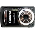 Xj03 barns hållbara praktiska 16 miljoner pixlar, kompakta bärbara hemkamera för barn - svart / digitalkamera - Black - Digital Camera