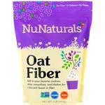 NuNaturals, Oat Fiber, 1 lb (454 g)