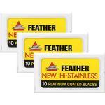 Feather Double Edge Razor Blades 30-pack