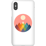 Andy Westface Rainbow Peak Phone Case for iPhone and Android - iPhone X - Snap Case - Matte