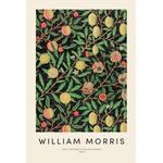"""Aluminiumtavla William Morris """"William Morris - Fruit"""" från JUNIQE - Konstnär: Vintage by JUNIQE"""