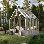 Växthus i trä Emilia Träväxthus 5,4 m²