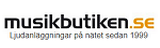 Musikbutiken Logotyp