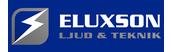 Eluxson Ljud & Teknik Logotyp