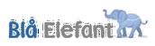 Blå Elefant SE Logotyp
