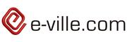 e-ville Logotyp
