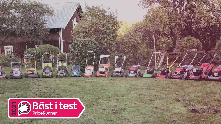 Gräsklippare bäst i test