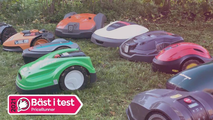 Robotgräsklippare bäst i test