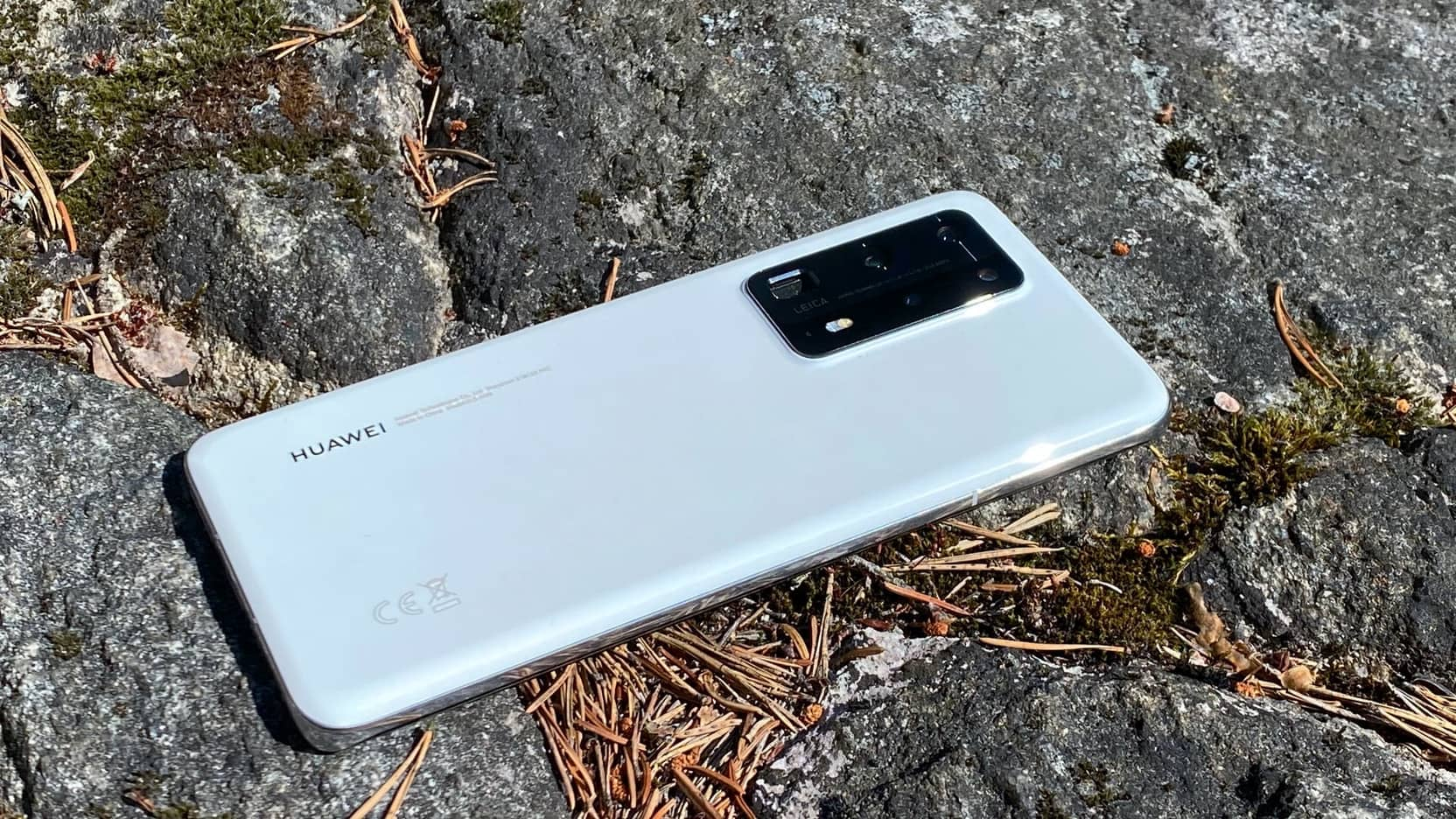 Huawei P40 Pro+ baksida