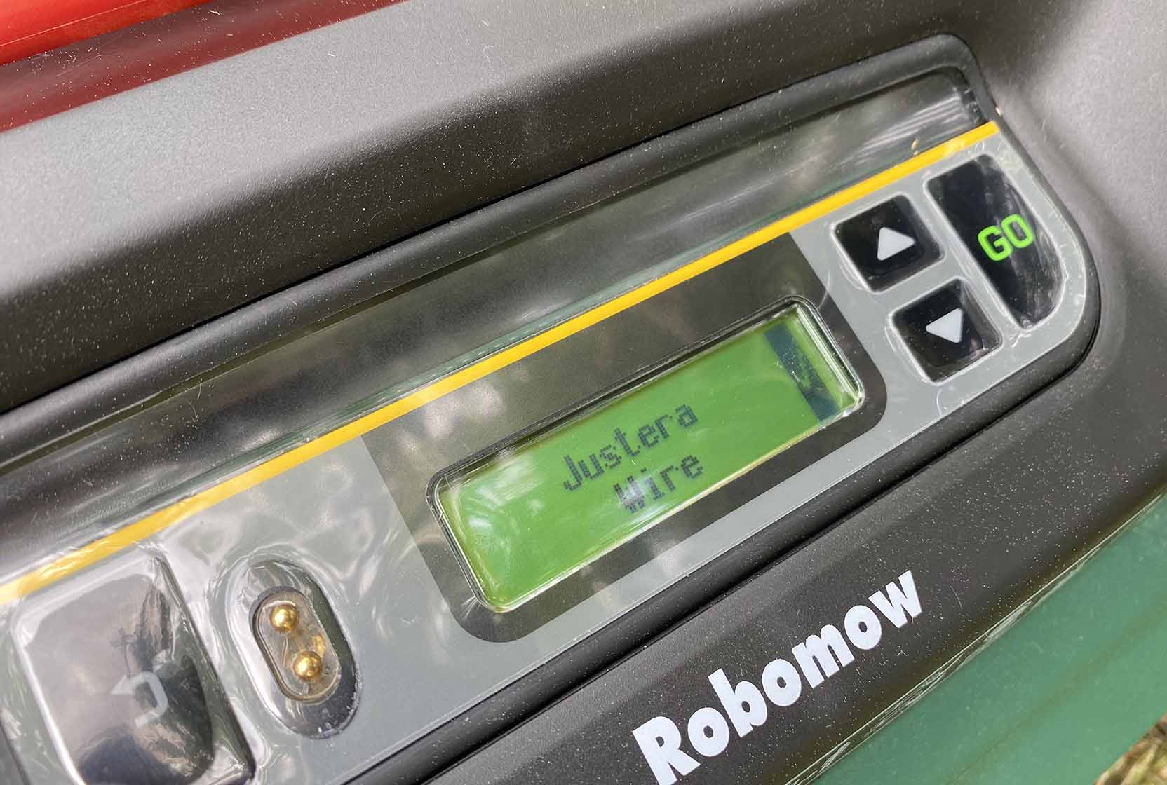Robomow RS 615u är lite underligt översatt