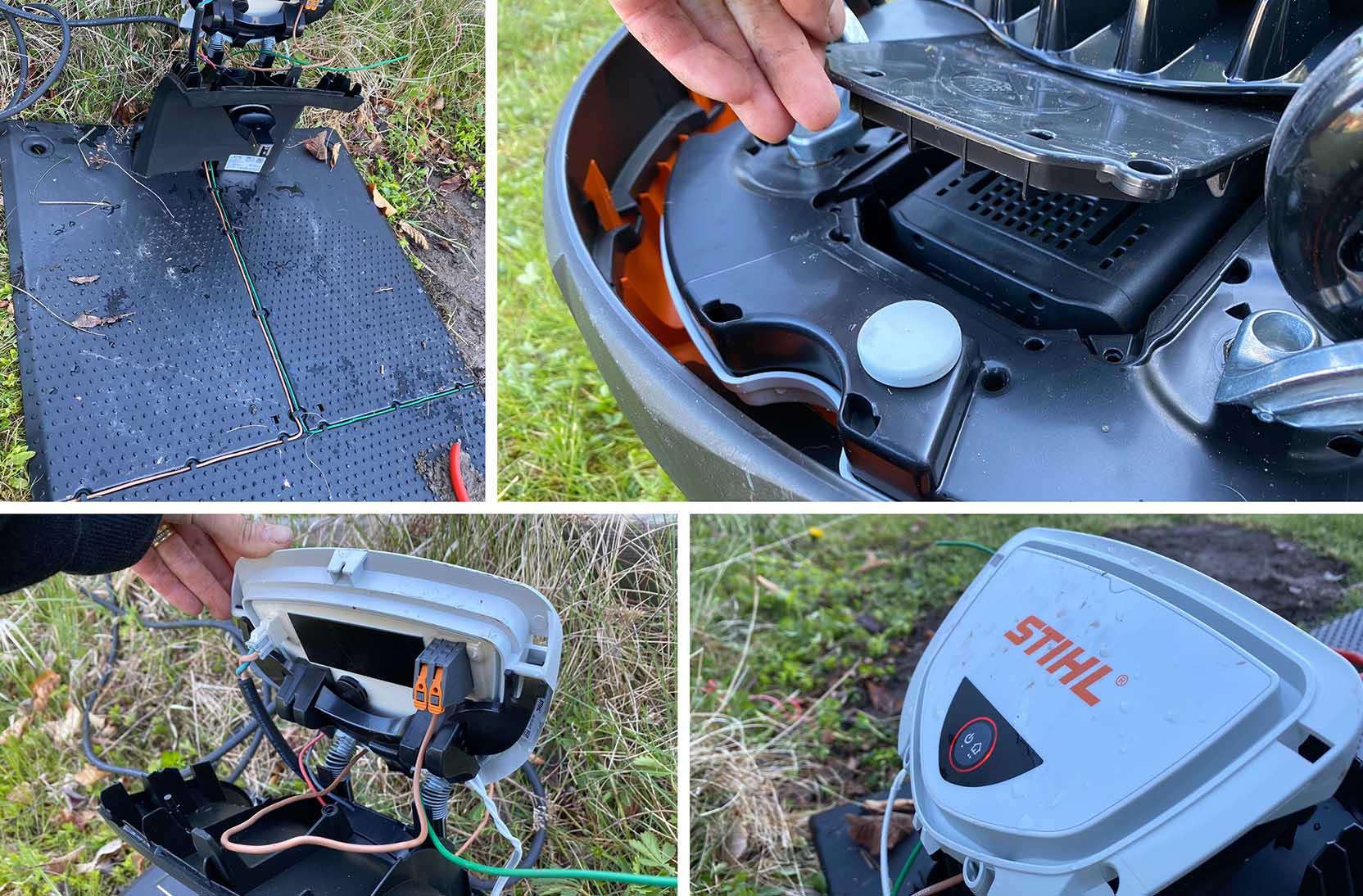 Installationen av Stihl RMI 632 PC är inte särskilt komplicerad, men också något omodern