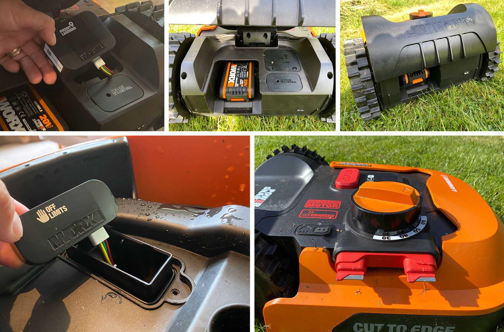 Worx Landroid M500 är en robotgräsklippare som du kan bygga ut med fler funktioner