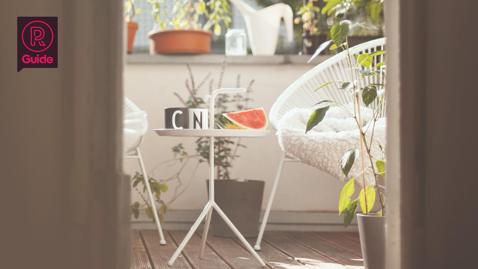 Billiga och bra utemöbler för balkongen 2020