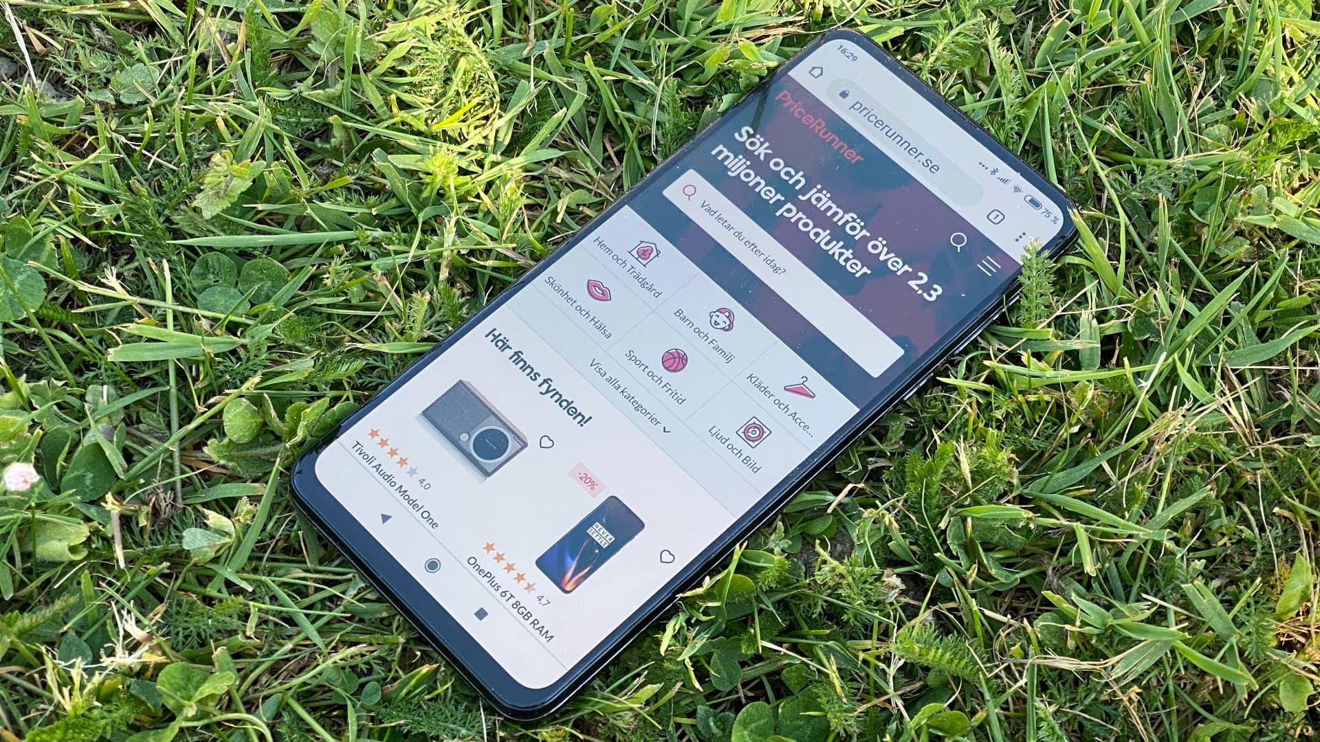Xiaomi Mi Mix 3 framifrån