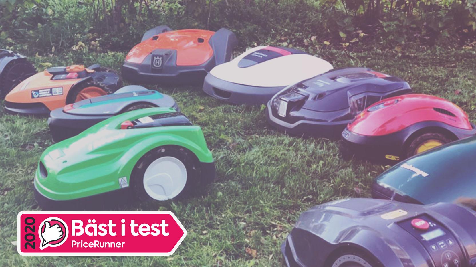 TEST: Bästa Robotgräsklipparen 2020 → 24 Expertbetyg