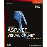 Microsoft visual c# step by step Böcker ASP.NET Programming with Visual C#.NET Step by Step 2003