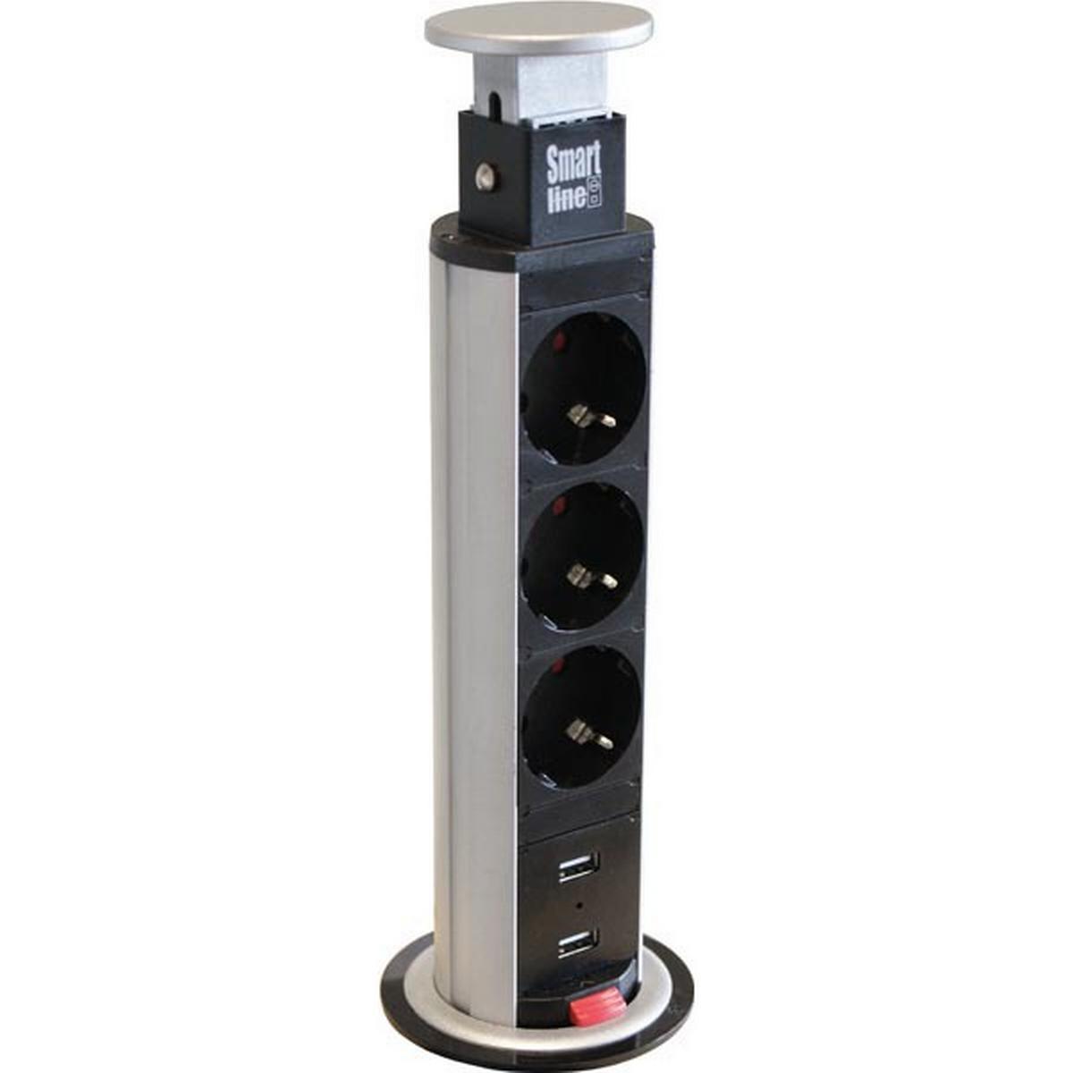 85200043 | Popup Mini 2el USB laddare | Selga