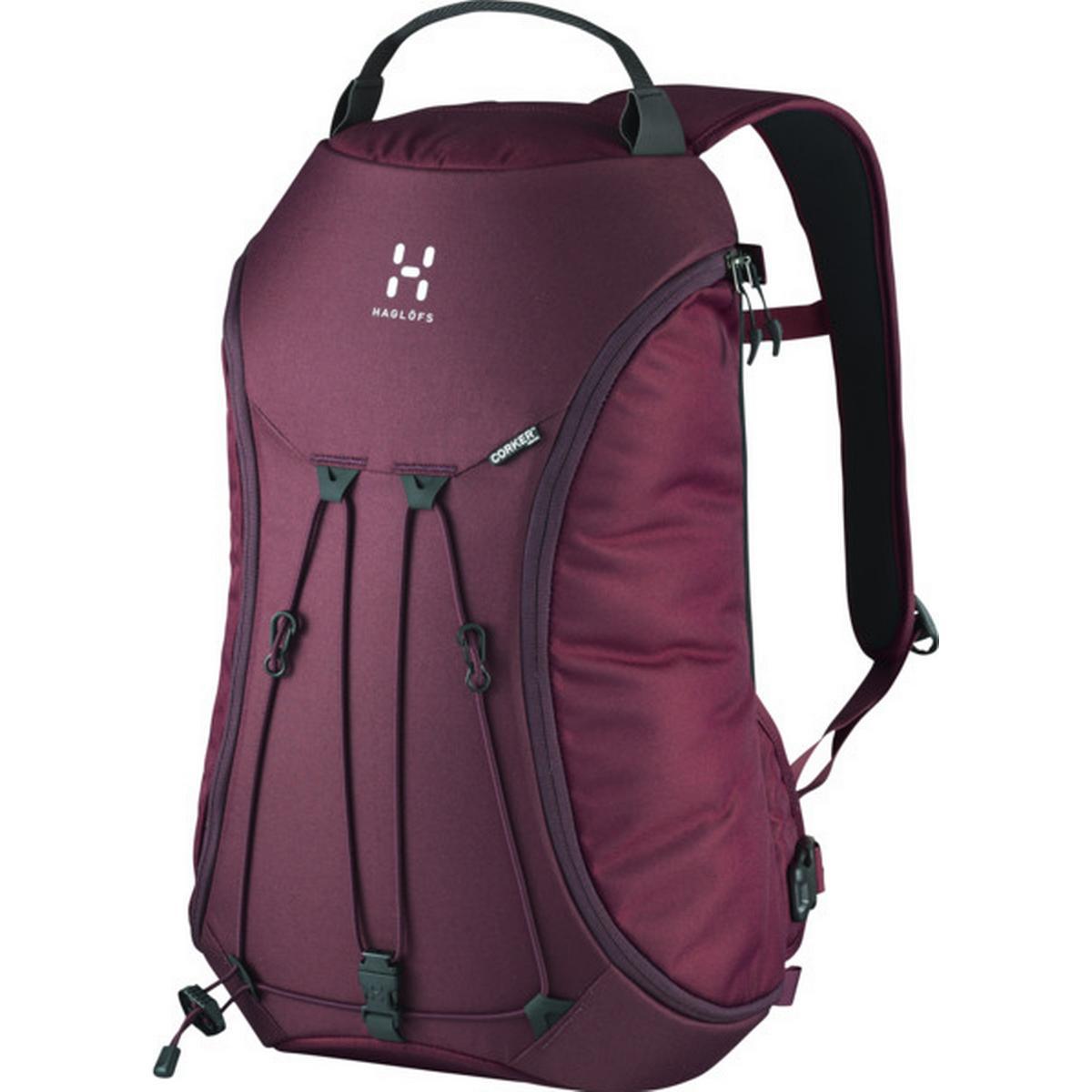 Anti stöld Ryggsäck Kodlås Väska Multifunktionell, Purple