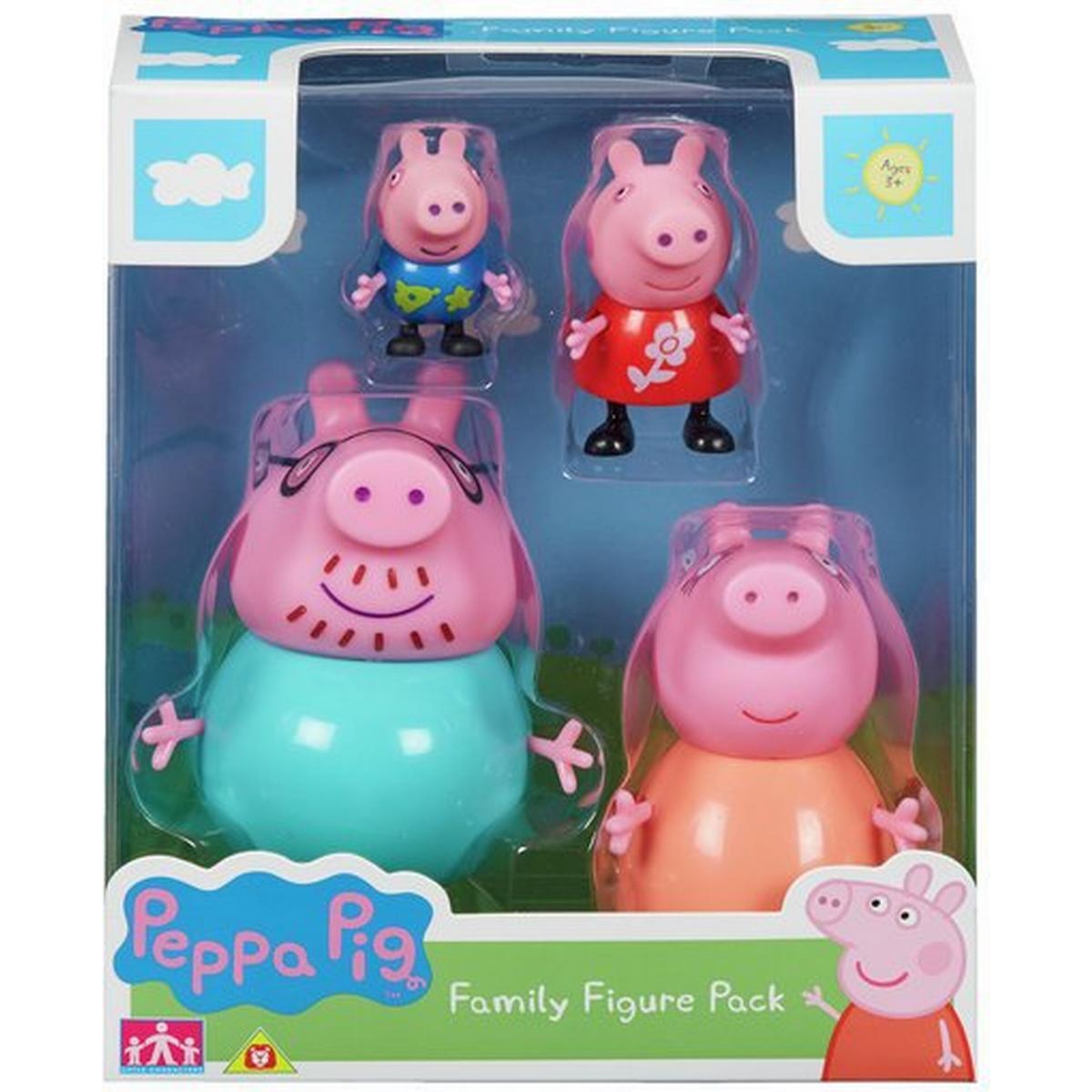 Peppa Pig Peppas Back To School Playset Bundle with School Bus