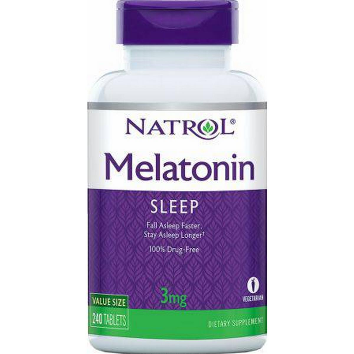 melatonin tabletter hälsokost