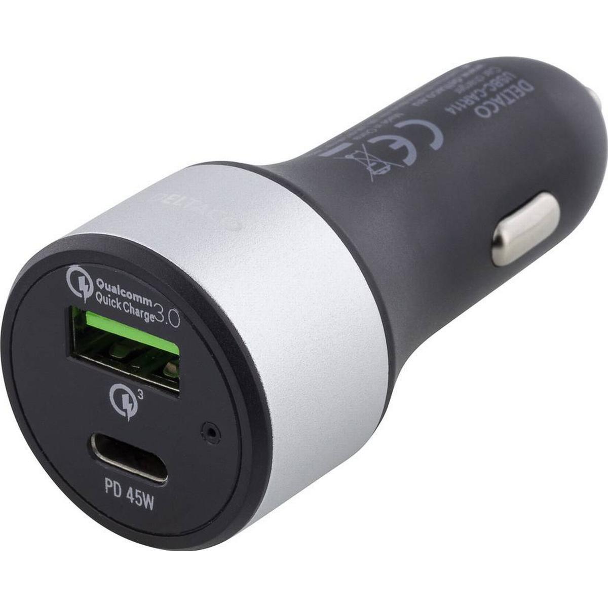 Deltaco USBC CAR100 • Se det lägsta priset (5 butiker) hos