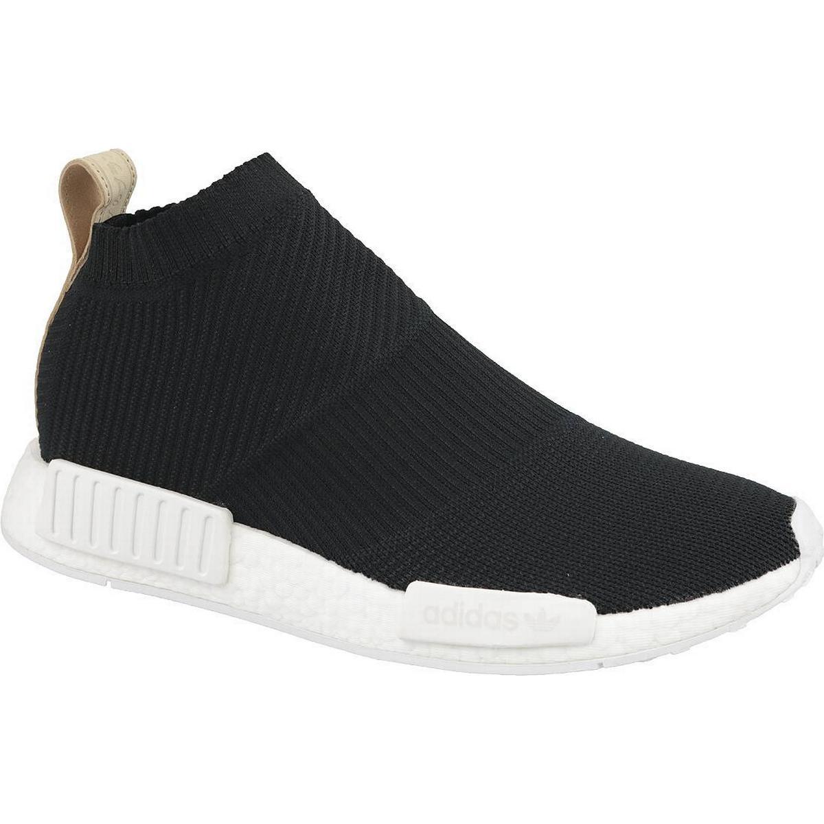 Adidas Originals NMD CS1 Primeknit Skor Core BlackGum