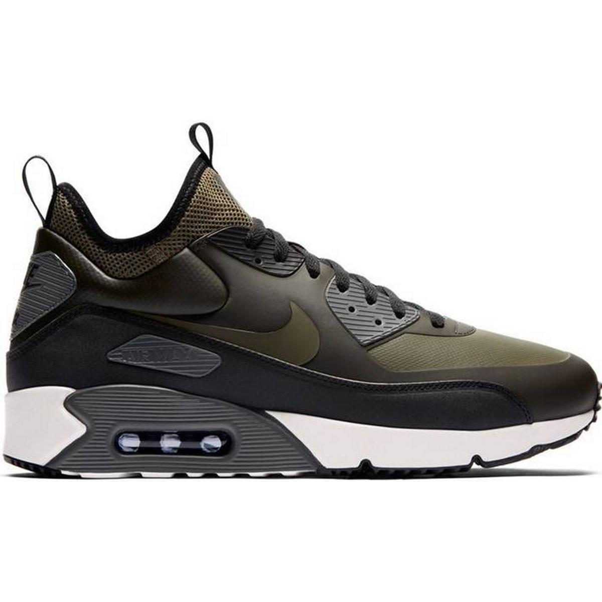 Nike Air Max 90 Ultra Mid Winter BlackGrey • Se priser (1