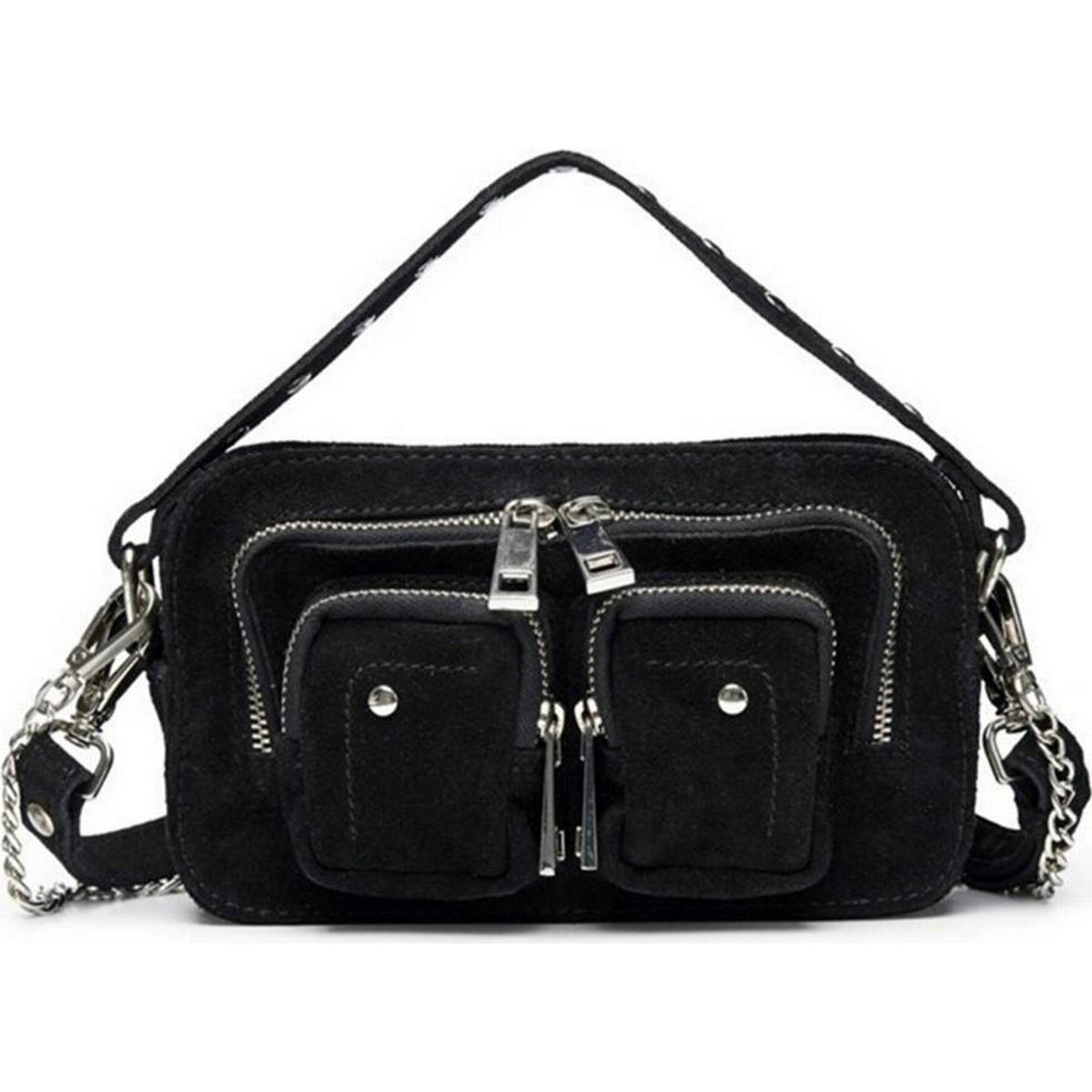 Helena Snake Mix liten handväska i skinn, med mönster