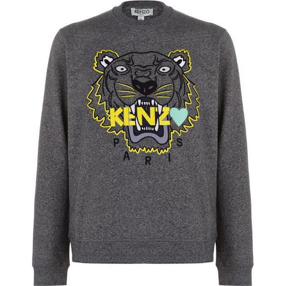 Green Tiger head motif sweatshirt  Kenzo  Tröjor