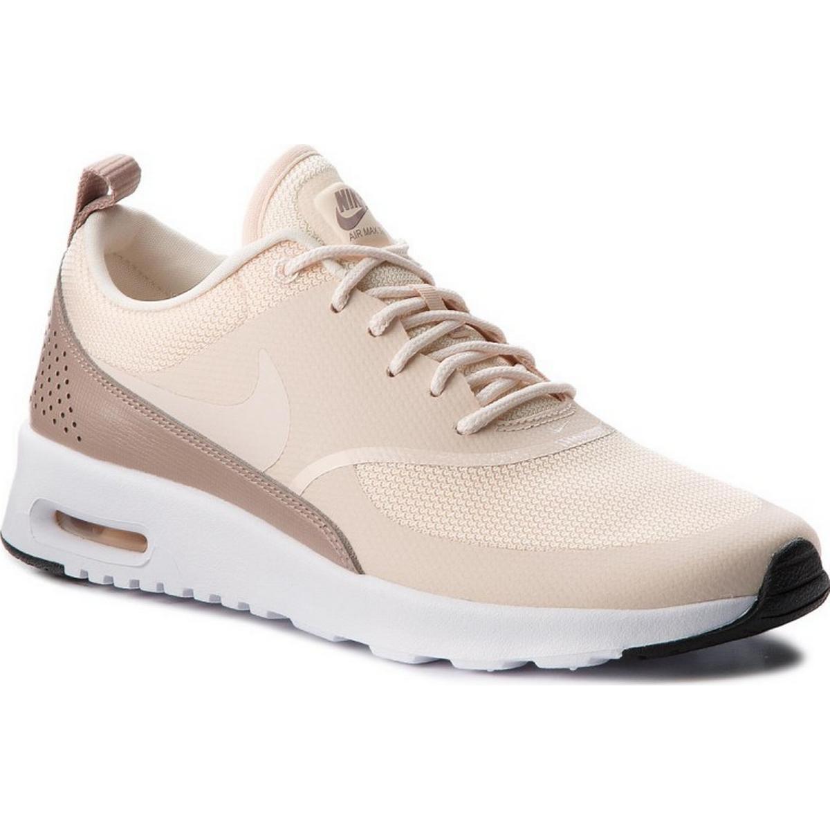 Nike Air Max Thea Premium RödRosa Sneakers Dam Rea