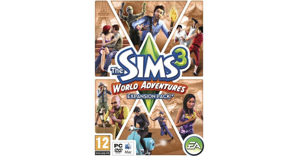 the sims 3 world adventures pc se priser 3 butiker. Black Bedroom Furniture Sets. Home Design Ideas