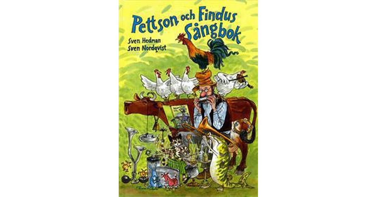 Pettson och Findus sångbok + CD – Sven Hedman – Bok