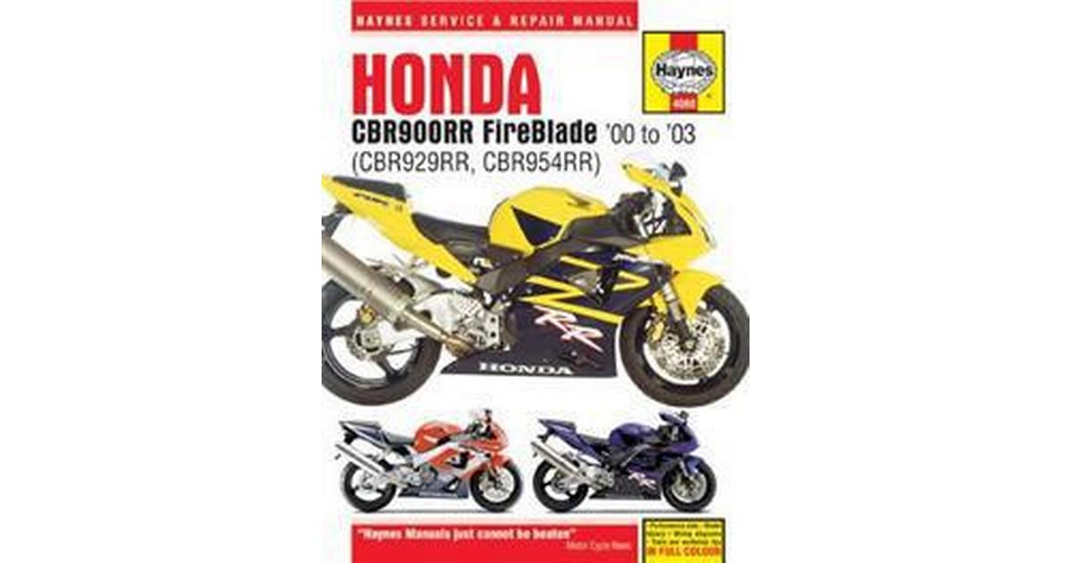 Haynes Honda Cbr900rr Fireblade  U0026 39 00 To  U0026 39 03 Service And