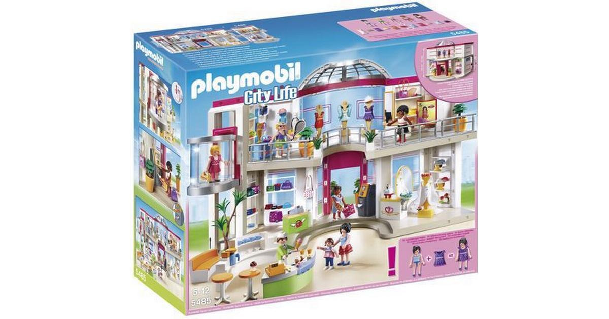 Playmobil fashion store-mannequin beige dress presentation 5485 r802