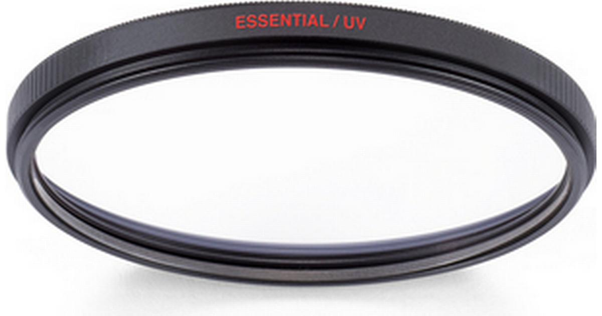 With 82mm Essential CPL Filter Manfrotto MFESSUV-82 82mm Essential UV Filter