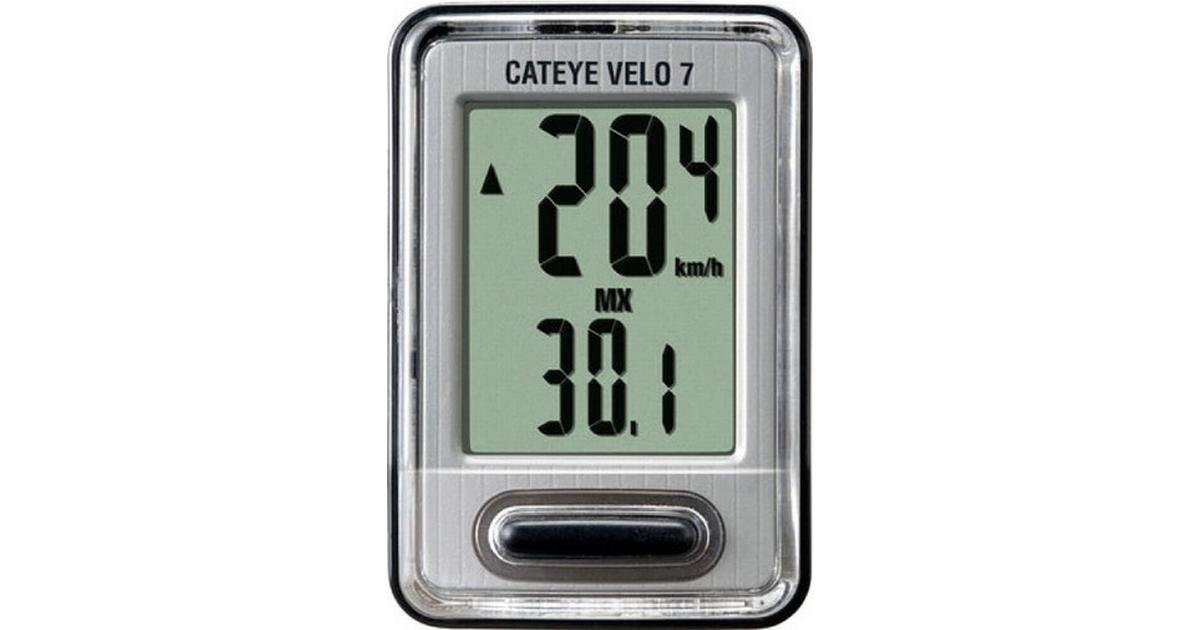 CATEYE VELO 7 CYCLE COMPUTER CC-VL520~GREY NEW 160-3350