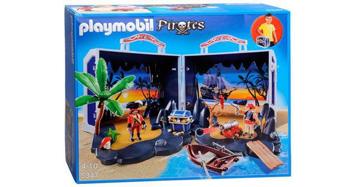 playmobil pirates pirat skattkista 5347 • se priser 3