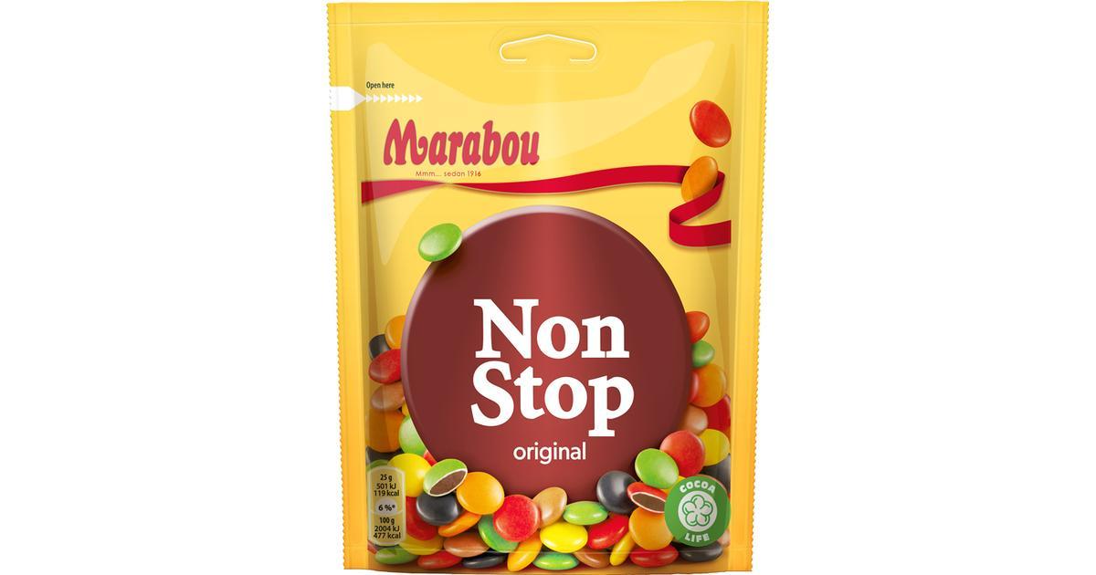 never stop choklad