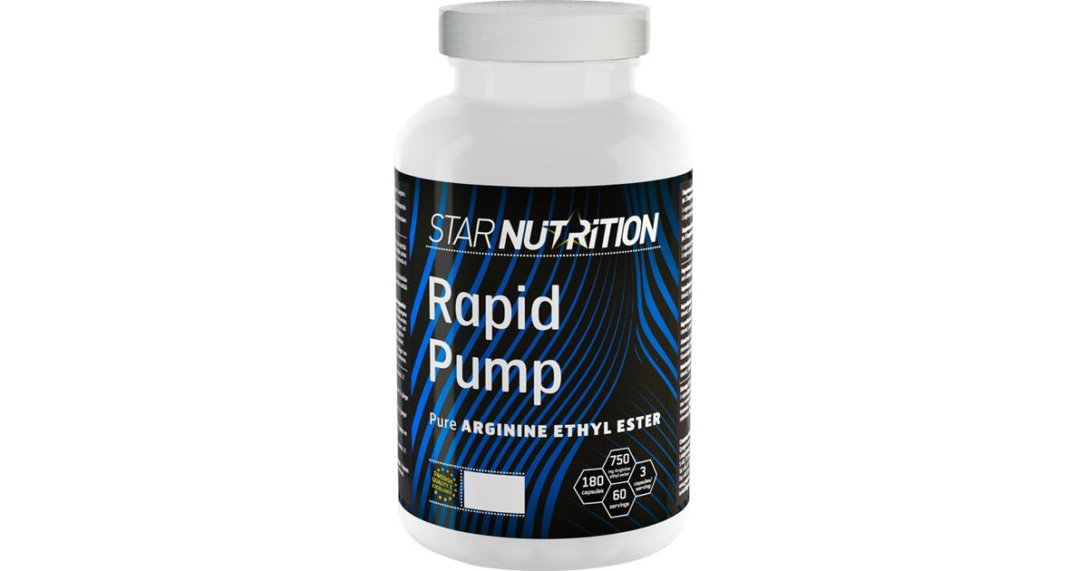 star nutrition rapid pump