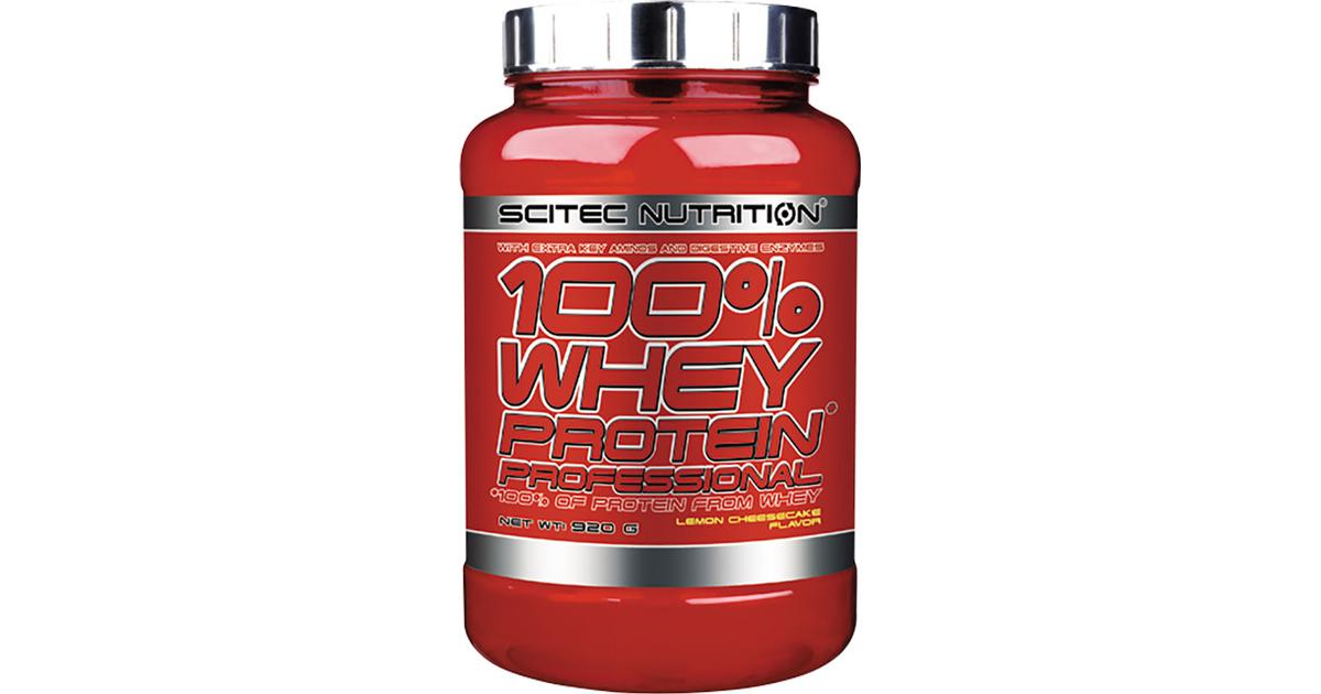 Scitec Nutrition 100% Whey Protein Professional Lemon ...