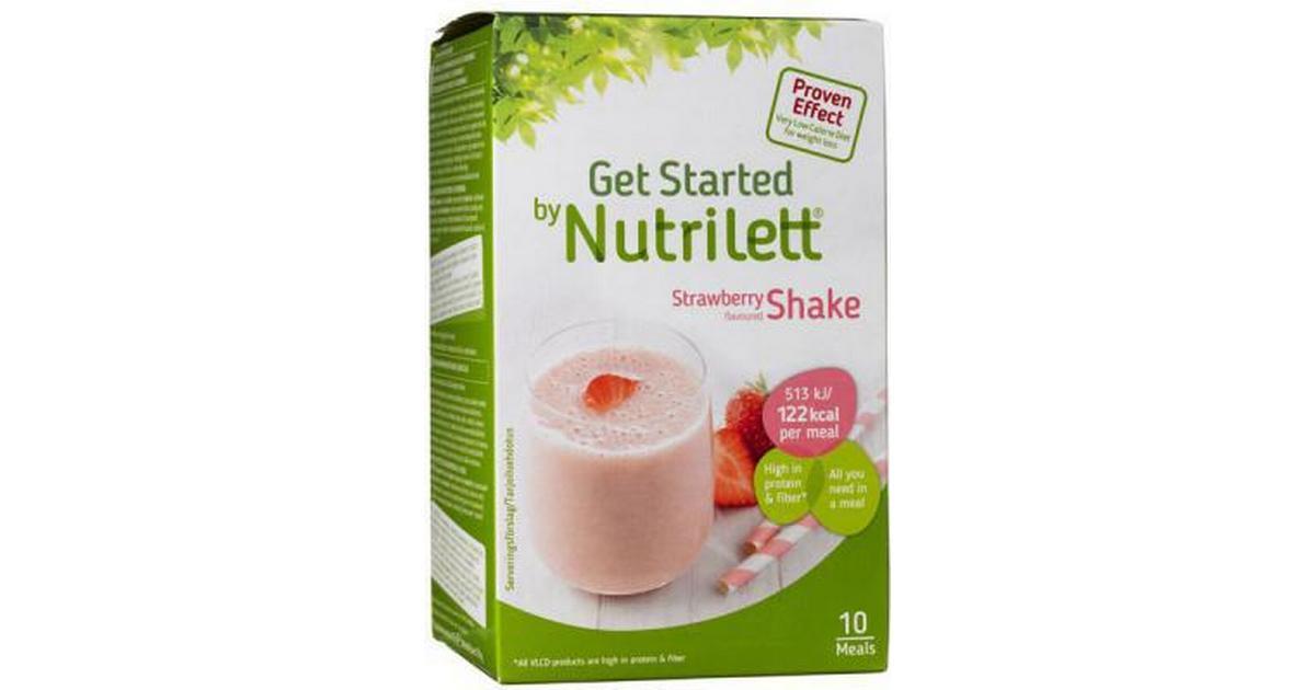 nutrilett strawberry shake