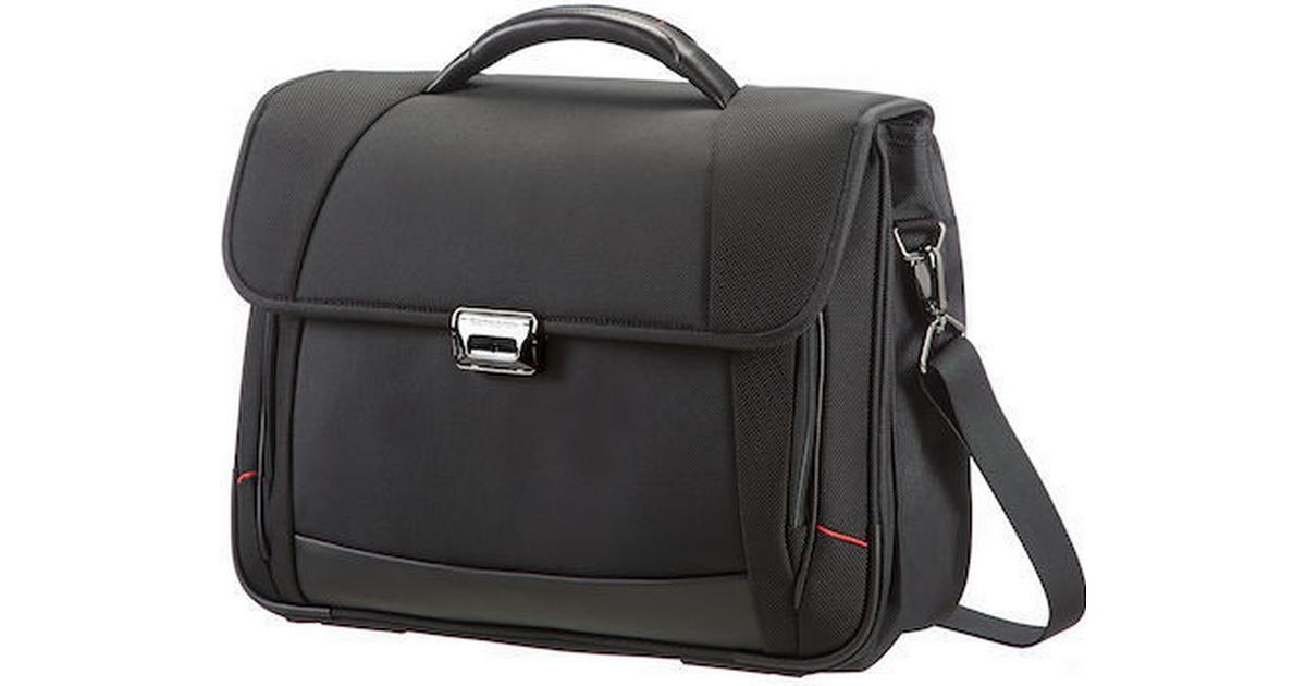 Samsonite Pro Dlx4 Laptop Backpack L 16 Black Svart 16tum