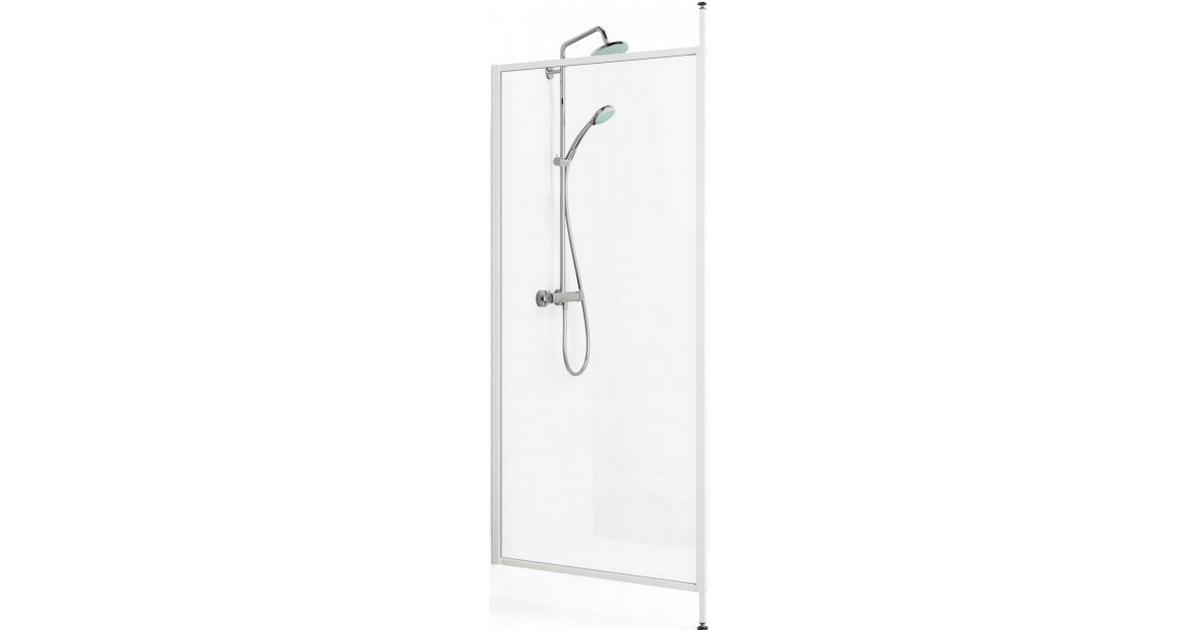 duschvägg skjutdörr