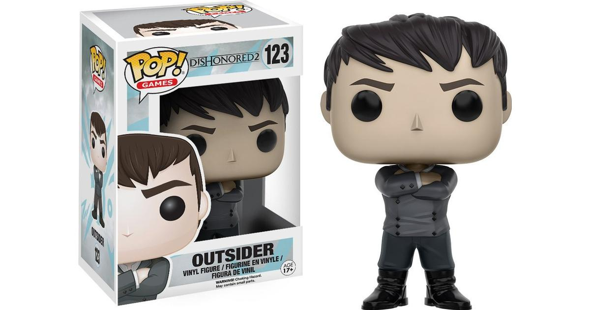 POP Games Outsider Vinyl Action Figure New In Box Funko Dishonored 2