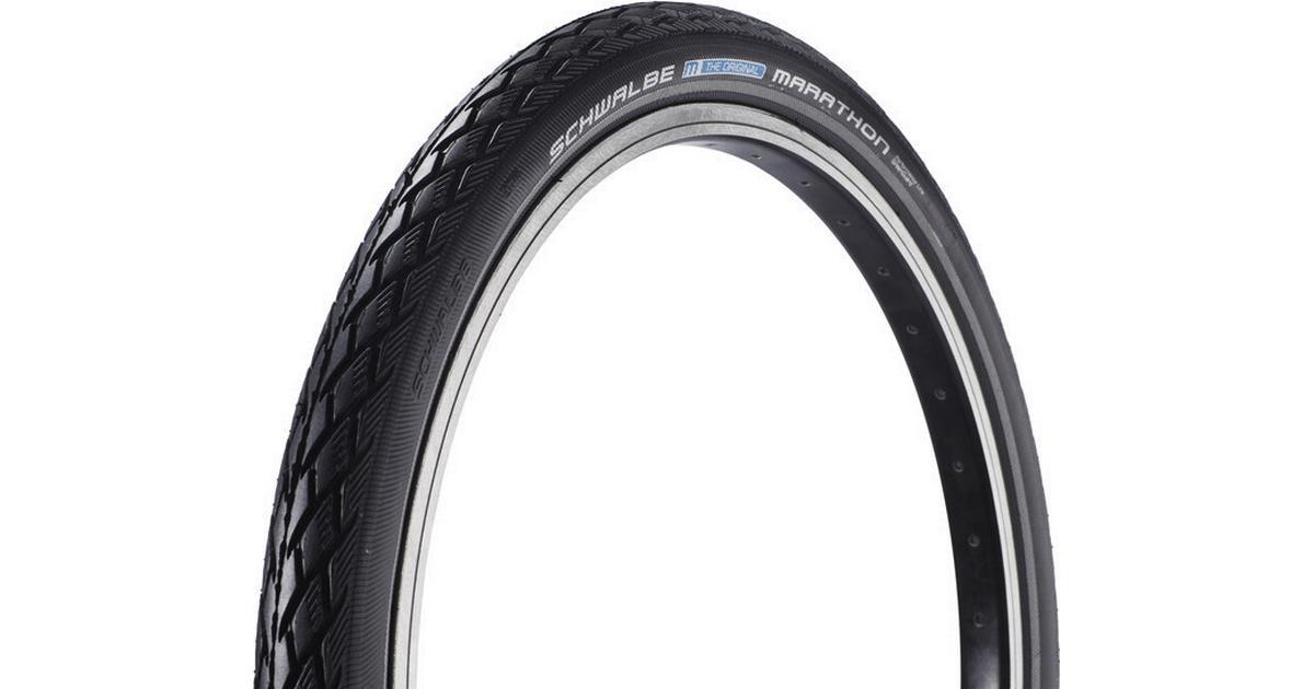 """20 x 1.75/"""" Black//Reflex Schwalbe Marathon Performance Wired Tyre"""