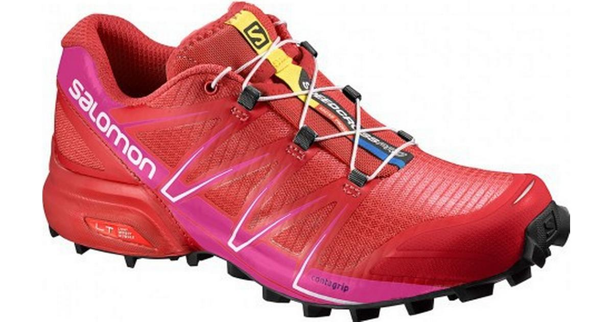 Salomon Speedcross Pro W Poppy RedRose Violet