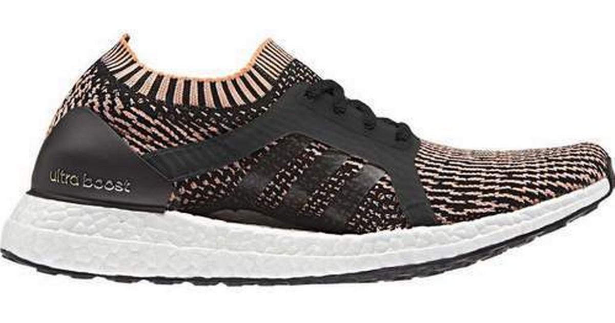 Adidas BA8278 Dam Ultra Boost X Löpskor Svart Orange Sneakers