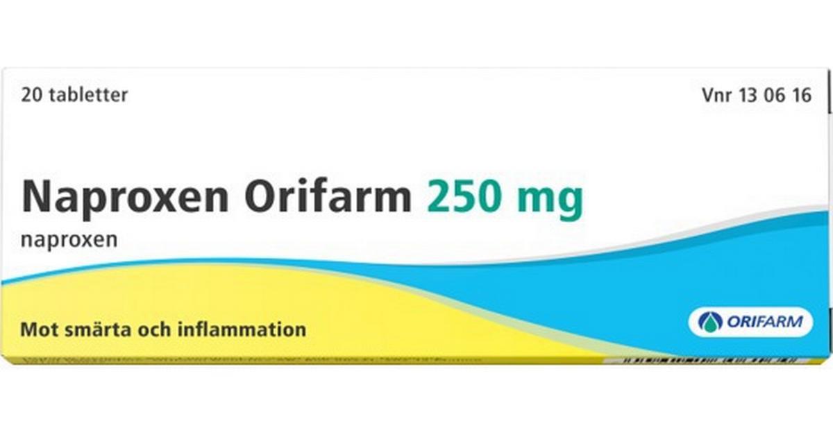 naproxen orifarm 250 mg