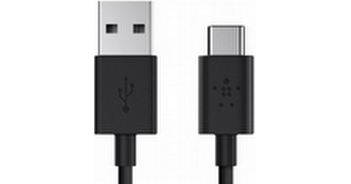USB Laddare vägguttag iPhone Vit 2m Inet.se